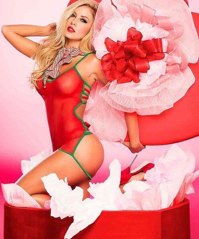 fantezi elbise kırmızı