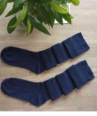 şık lacivert çorap