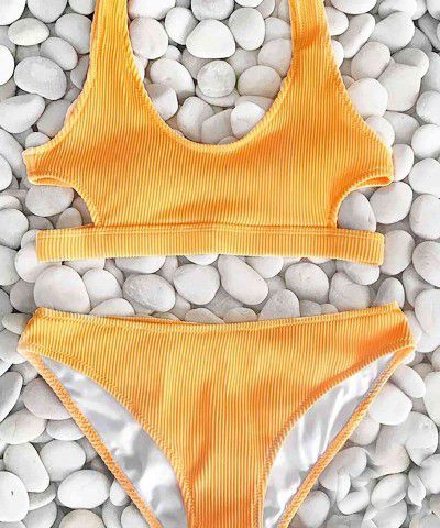 sarı bikini