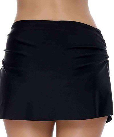 siyah etekli bikini