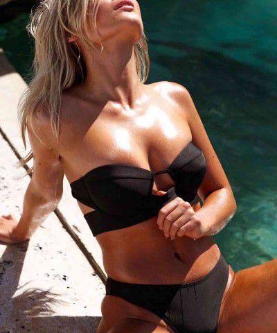 siyah bikini takımı